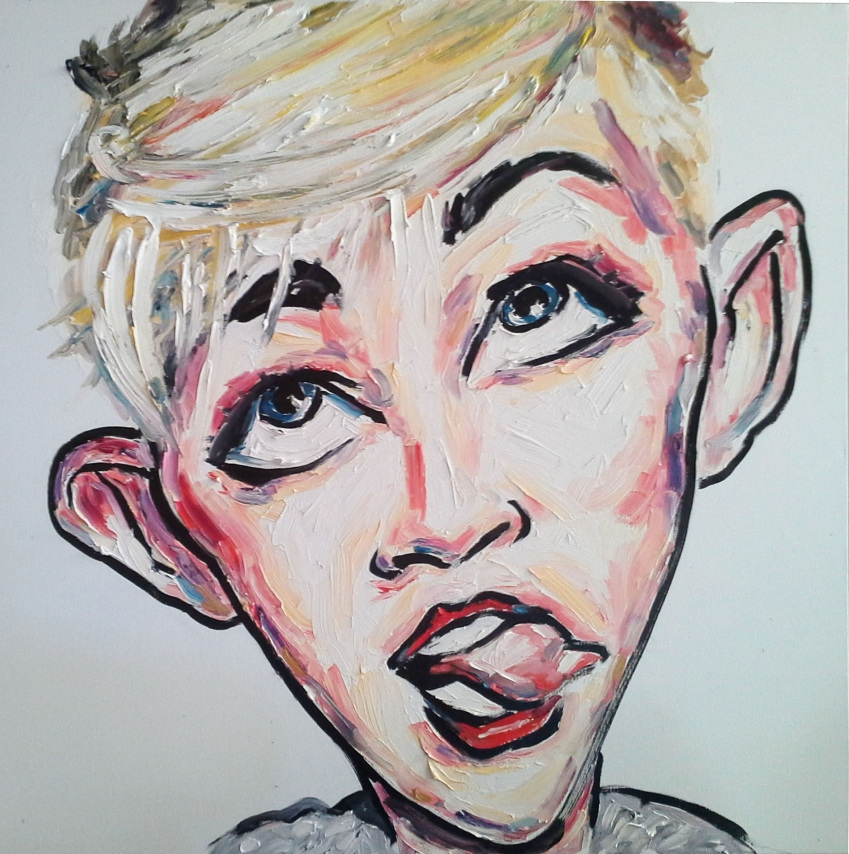 Miley Cyrus by TIPPETTURES
